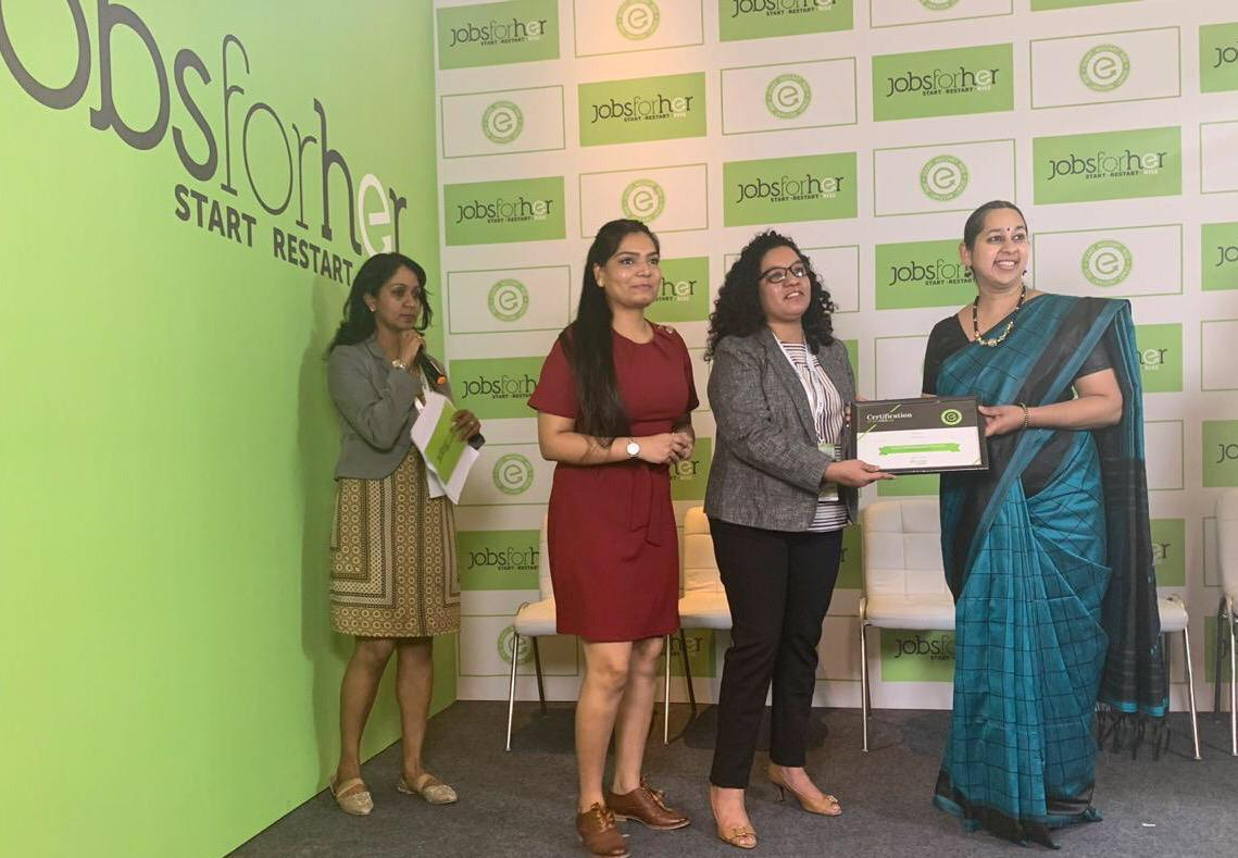 Experian India awarded 'Top20 Most Innovative Practices – DivHERsity Programs' in India at AccelHERate 2019