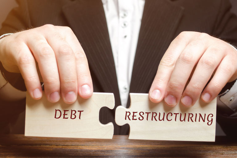 Your credit score won't be impacted if you opt for loan restructuring. Here is why